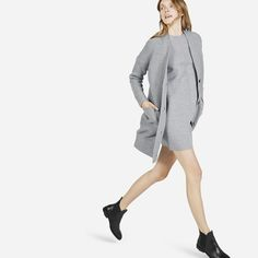 The Chunky Wool Cardigan Coat - Everlane