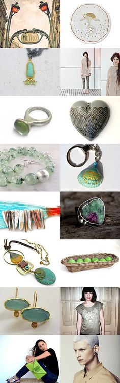 July in green by greek mythos on Etsy--Pinned with TreasuryPin.com