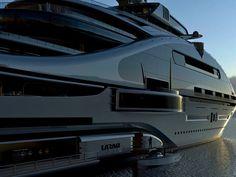 Un gigayate, diseño de Laraki Yacht Design.