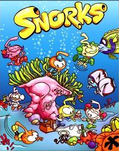 snorks | click here to buy a cool Snorks fabric wall scroll poster from Amazon .
