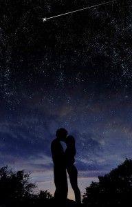 kissing under the stars. wallpaper kiss Under the Stars by chronofreak on DeviantArt