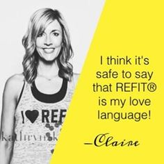 Part of our AMAZING Revolutionary community comes from Baton Rouge, Louisiana! Claire has been with us for awhile, and we can't say enough about her! As an fellow Instructor and friend, Claire has been a pillar that upholds the values and mission of REFIT