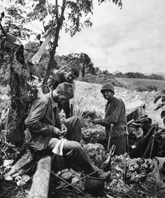 At Guadalcanal, United States Marine Corps