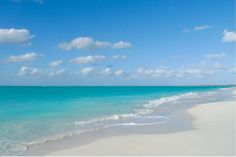 turks and caicos- check. One of my favorite beaches is there.