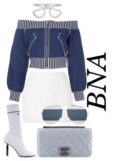 """BNA"" by deborahsauveur ❤ liked on Polyvore featuring Rodarte, Jean-Paul Gaultier, Chanel, Balenciaga, Vetements and Christian Dior"
