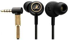 Headphones, black&gold – Marshall (October 2015)