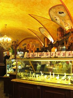 Absolutely charming little icecream shop in Prague.