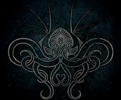 Cosmic Cthulhu by verreaux on DeviantArt Cthulhu Tattoo, Cthulhu Art, Kraken Art, Lovecraft Cthulhu, Octopus Art, Call Of Cthulhu, Tatoo Art, Black Art, Cosmic