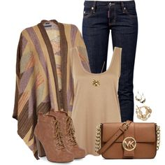 Earthy & Warm, created by angelysty on Polyvore