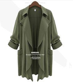 Lapel Coat with Pocket