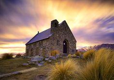 The Church of the Good Shepherd in Lake Tekapo, New Zealands South Island