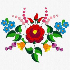 Beautiful Kalocsa Design/ embroidery pattern for sale. Embroidery Designs, Machine Embroidery Patterns, Hungarian Embroidery, Folk Embroidery, Geometric Embroidery, Chain Stitch Embroidery, Embroidery Stitches, Stitch Head, Bordado Floral