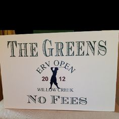"Sign at our ""all green"" candy bar"