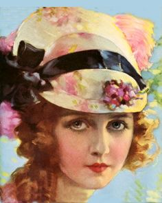 Dorothy Gish by Rolf Armstrong