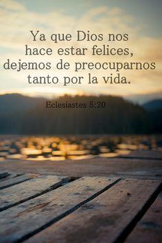 Eclesiastes 5:20