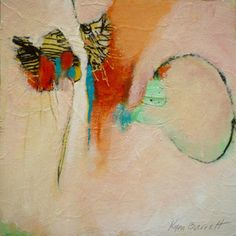 Kym Barrett - abstract artist    I love the simplicity, colour, movement and atmosphere that Kym manages to bring to the viewer