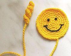 Crochet Bookmark monster Gift ideas for book lovers Crochet by ElenaGift   Etsy