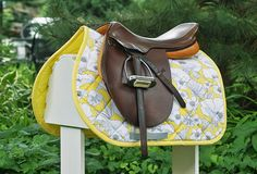 Love the saddle and the pad!