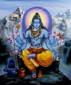 Lord Shiva (via pinterest: Om_Shantika)