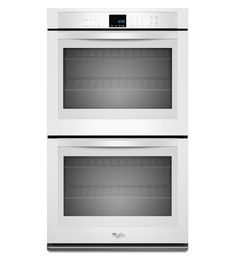 """Whirlpool WOD51EC7A 27"""" 8.6 Cu. Ft. Double Wall Oven with AccuBake® White Ovens Electric Double #WallOvens"""