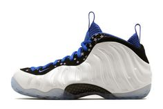 Buy Nike Air Foamposite One Shooting Stars White Black-Royal Blue For Sale  from Reliable Nike Air Foamposite One Shooting Stars White Black-Royal Blue  For ... 8ac1d757d