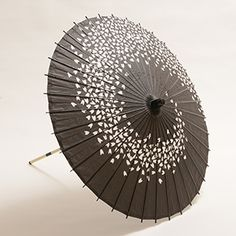 BESTJAPAN-Maigasa Higasa(parasole) for adalts Black Cherry Blossoms   Originally they are used for Nihon buyo(traditional Japanese dance)but at the same time they are used as parasol and it works perfect as it. #japanese #umbrella #lastsamurai #parasol #japanesepaper