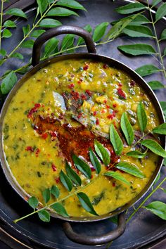 Methi Dal or Fenugre