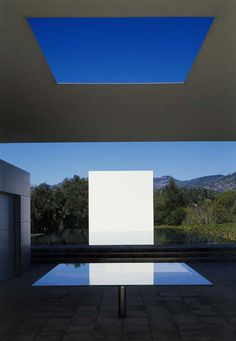 The Pavilion, Pool House  Jim Jennings in  collaboration with James Turrell .