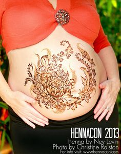Belly Henna, I find these the most beautiful