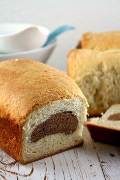 Chocolate Marble Hokkaido Bread and Spiced Hokkaido Rolls with Potato Filling