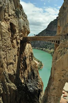 El Chorro - El Camino del Rey (Kings Walkway) Malaga, Spain.
