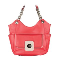 Carly and Quinn both coral leather www.funpursesfungirls.graceadele.us