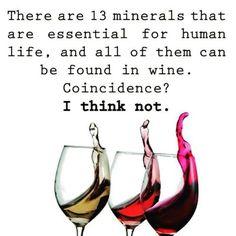 13 minerals...