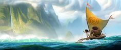 Concept Arts do filme Moana, nova produção do estúdio Disney | THECAB - The Concept Art Blog