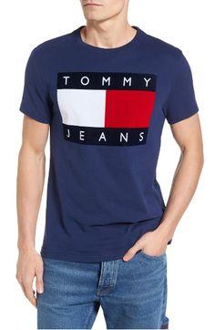 cfb4b60744089 TOMMY HILFIGER  90S Flat T-Shirt.  tommyhilfiger  cloth   Tommy Hilfiger