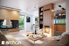 Zdjęcie: Dom w cytryńcach - Salon - Styl Klasyczny - ARCHONhome