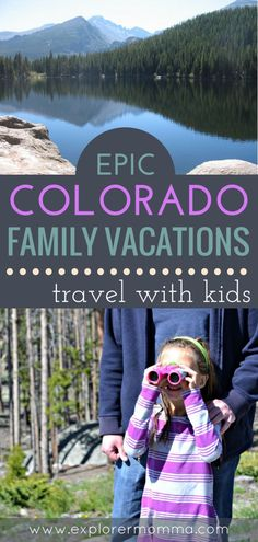 Are you planning your summer family travel? Check out these awesome Colorado destinations for nature, Rocky Mountain-loving families! Colorado family vacations. #familytravel #rockymountains #kidshike #explorermomma