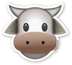 Cow Face | Emoji Stickers