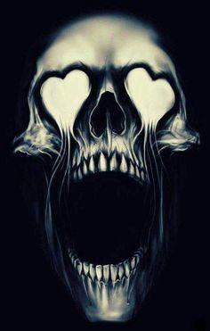 Heart skull