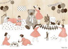 http://madamelolina.tumblr.com/- girls pajama party