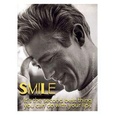 #smile #jamesdean @footprintsofkindness