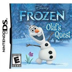 """Frozen: Olaf's Quest for Nintendo DS - Game Mill Entertainment - Toys """"R"""" Us"""