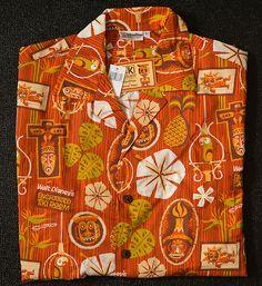 Hawaiian Shirt Aloha Men Tag Size Medium Fits Like L Xl