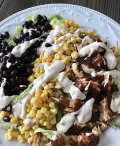You searched for Skinny bbq chicken salad - Pound Dropper Easy Salad Recipes, Easy Salads, Ww Recipes, Chicken Recipes, Cooking Recipes, Healthy Recipes, Skinnytaste Recipes, Detox Recipes, Summer Salads
