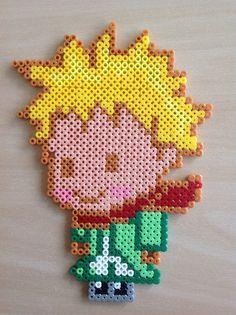 The Little Prince hama beads by Majken Skjølstrup
