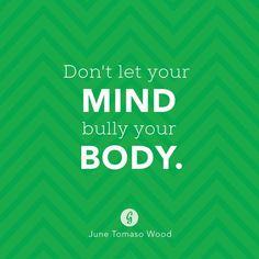 Mind over matter. #confidence #mantras #bodypositive