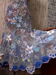 Olgamini blows my mind with her project Blue-09! She is one of the most AMAZING crochet artists EVER!