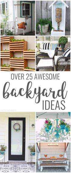 DIY Backyard Ideas Backyard ideas for decor, seating, the patio! So many good ideas!Backyard ideas for decor, seating, the patio! So many good ideas! Cheap Landscaping Ideas, Backyard Landscaping, Backyard Ideas, Garden Ideas, Florida Landscaping, Backyard Seating, Garden Seating, Patio Ideas, Living Room Color Schemes