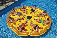 NEED: This pool float that will turn any pool day into a pizza party. | Here's What People Are Buying On Amazon Right Now