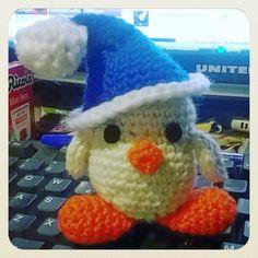 #little_white_chicken #christmas #amigurumi #crochet